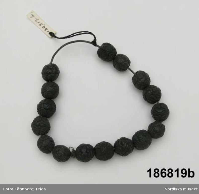 Pärlhalsband+armband
