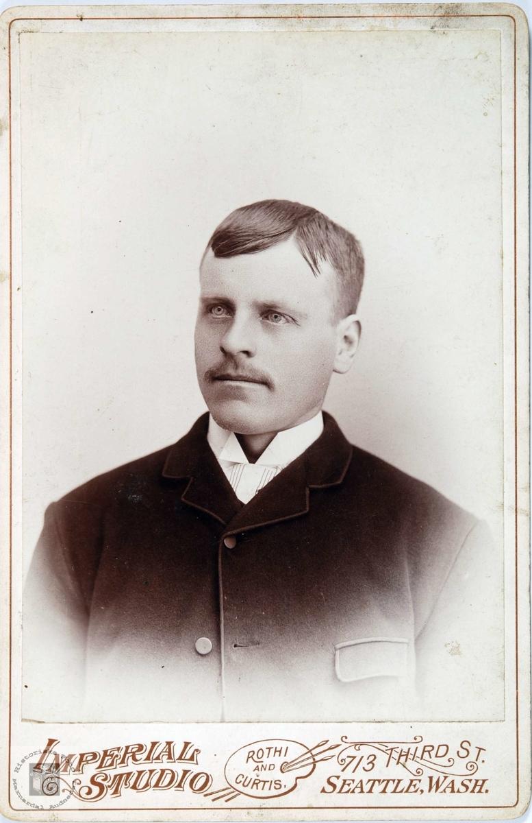 Portrett av Gunder Olson Viblemo. Audnedal.
