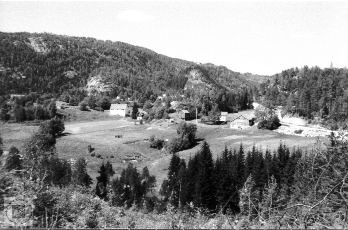 """Garden """"Der heime"""" Skjeggestad, Bjelland"""