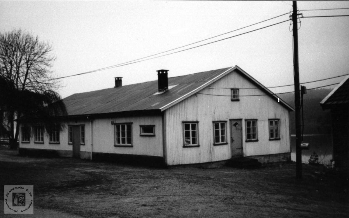 Den nye frabrikkbygningen i Støa fra1947.