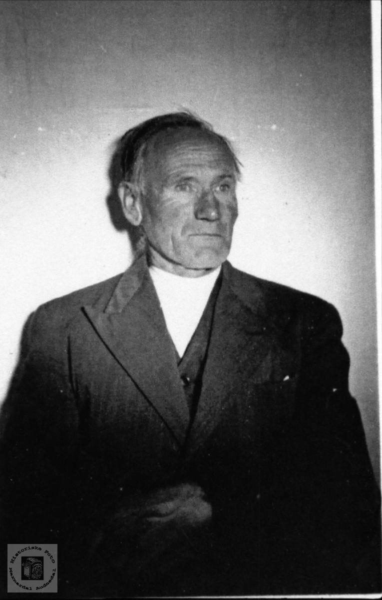 Portrett av  Gase Haraldstad, Laudal.