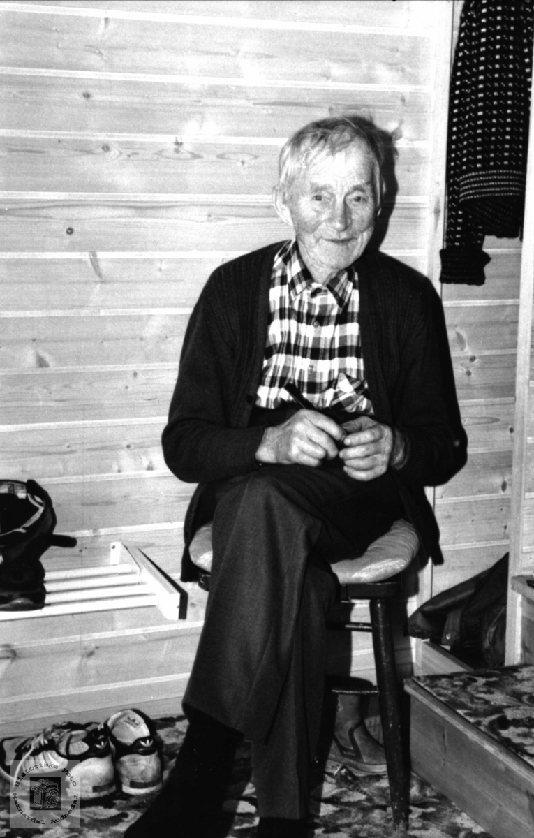 Portrett av Olav Finsådal, Øyslebø.