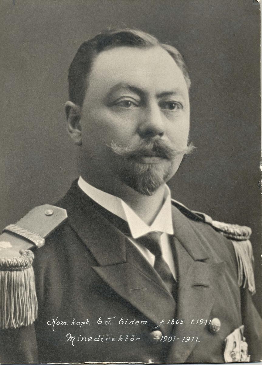 Motiv: Kommandørkaptein E.T.Eidem