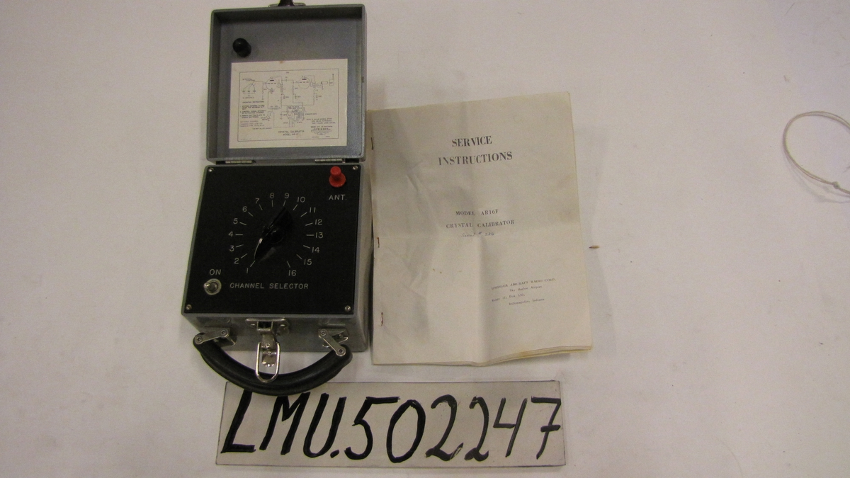 Crystal calibrator AR16F