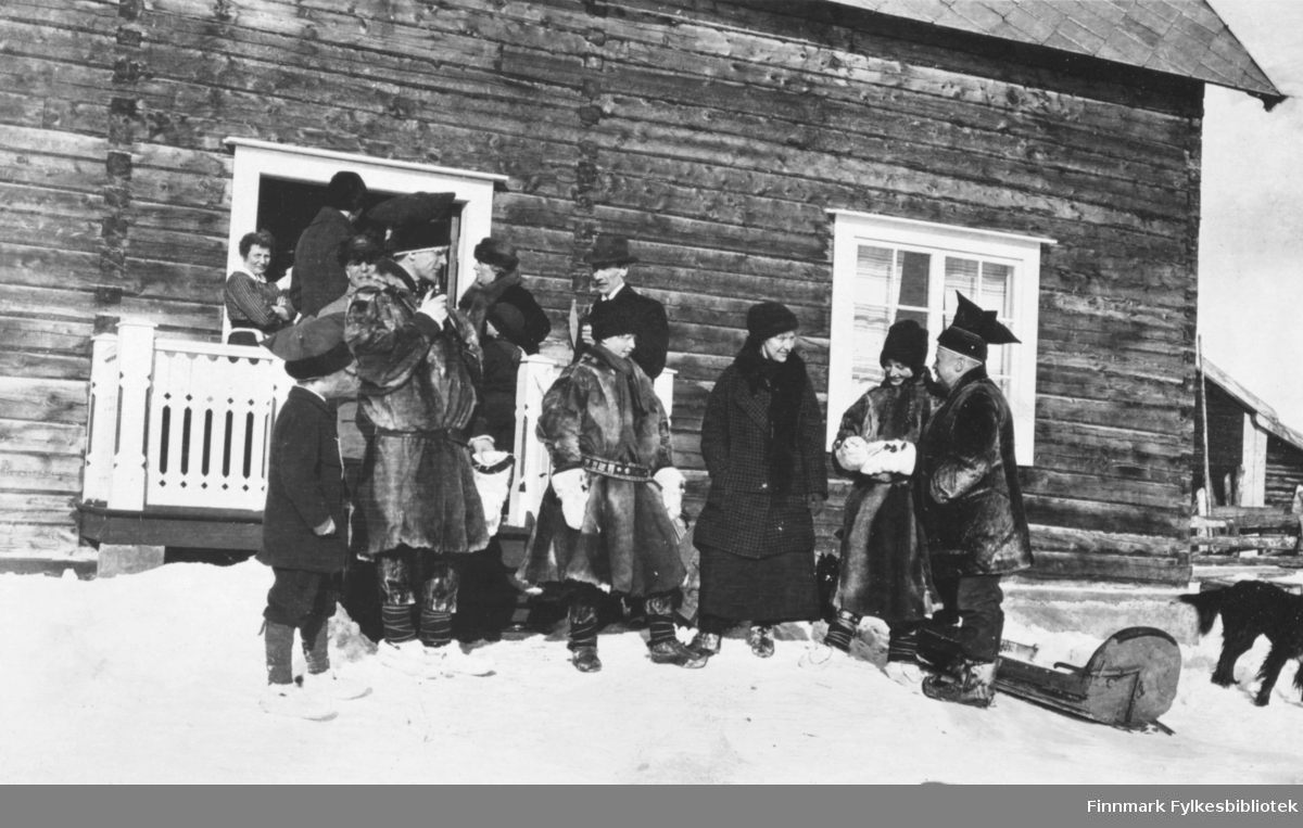Skogstuen, Karasjok mars 1916