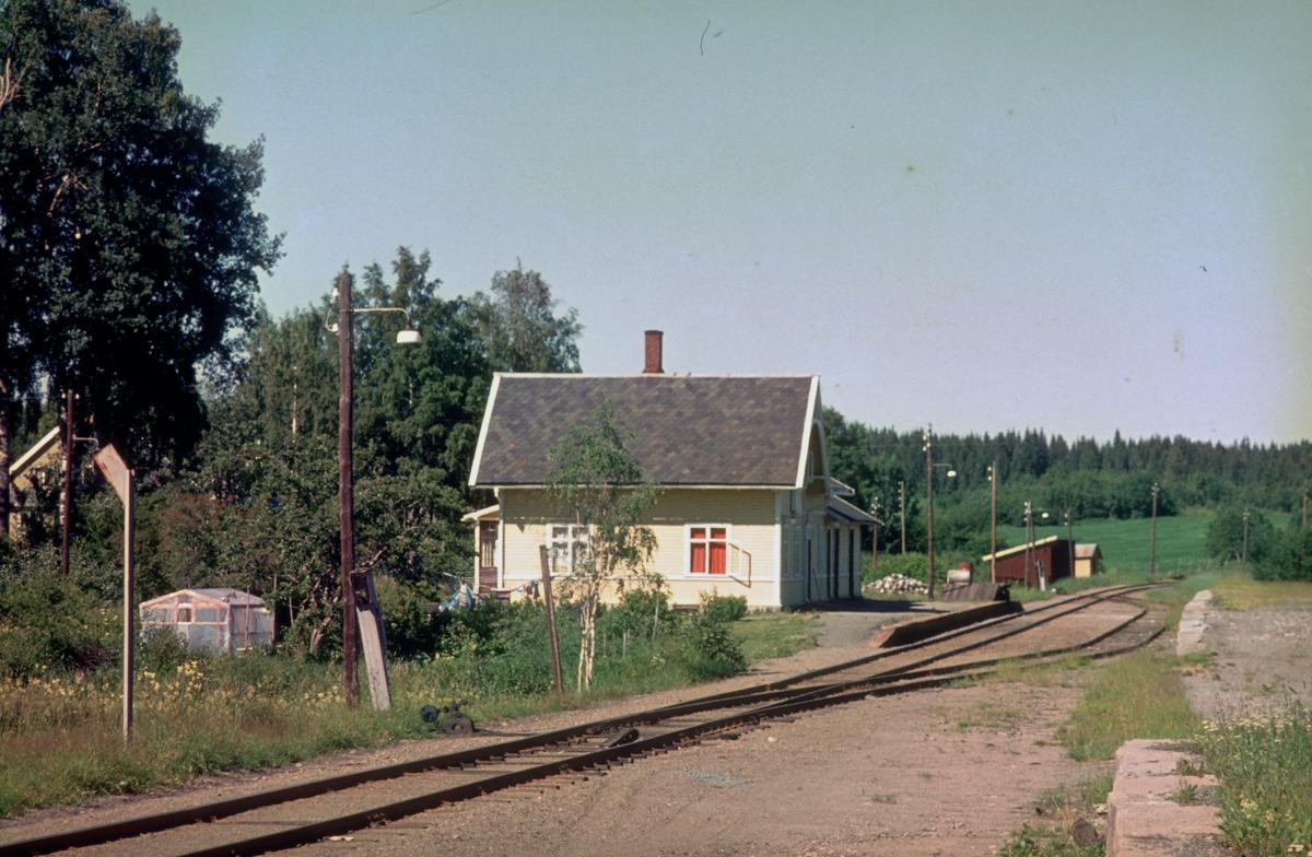 Kolbu stasjon på Skreialinjen.
