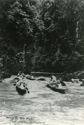Pagsanjan Falls. - T/S 'Kingsville' (b.1956, Lithgows Ltd.,