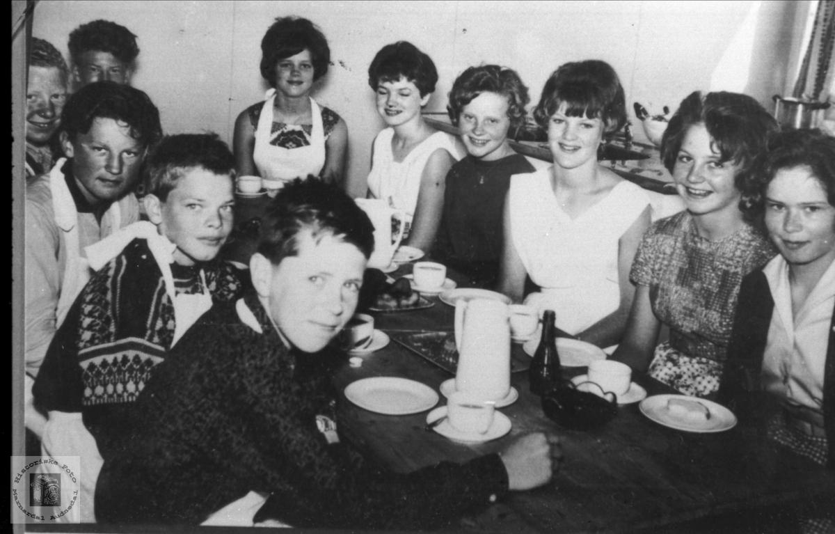 Husstell - klasse Laudal skole 1964.