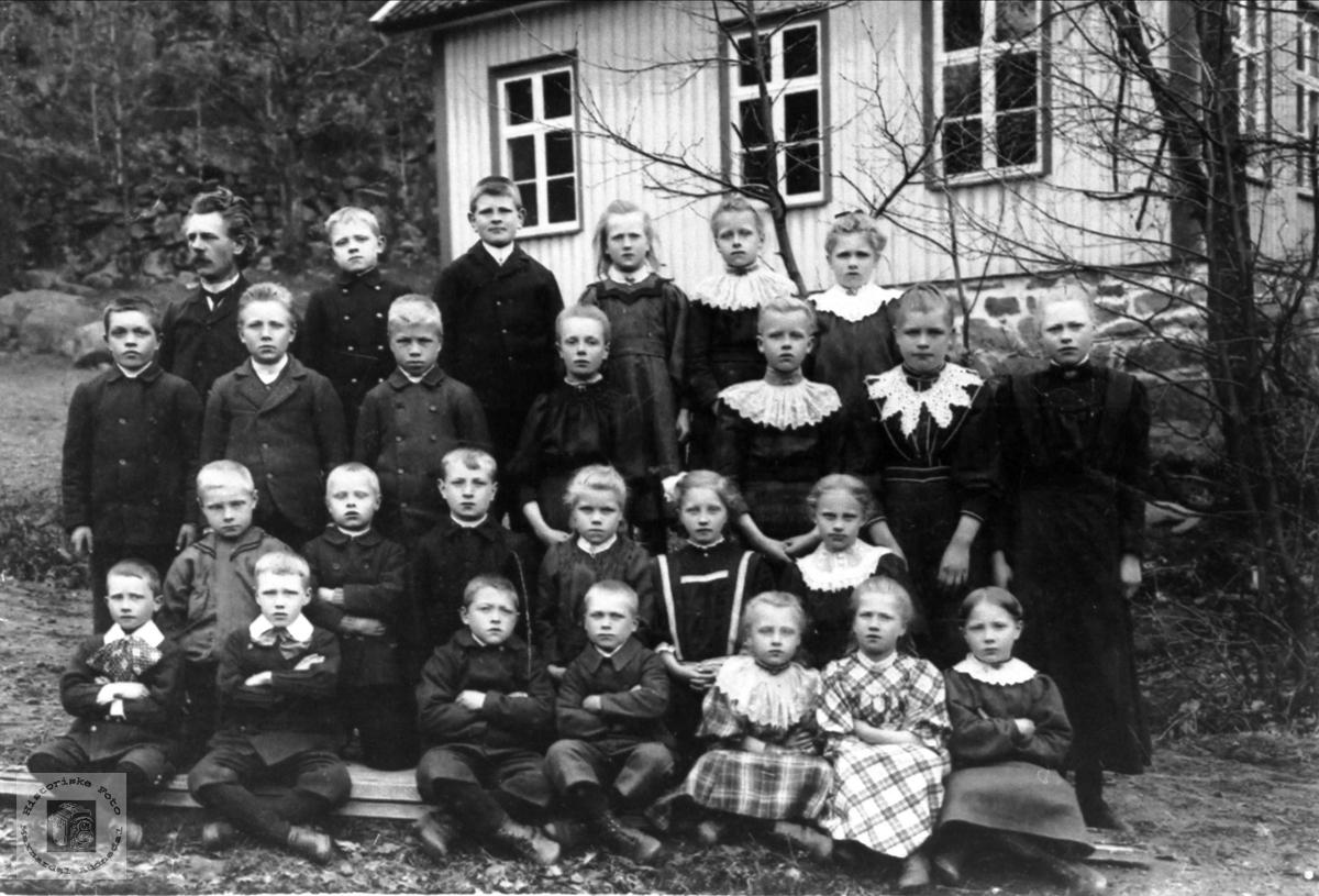 Skoleklasse Gangså skole