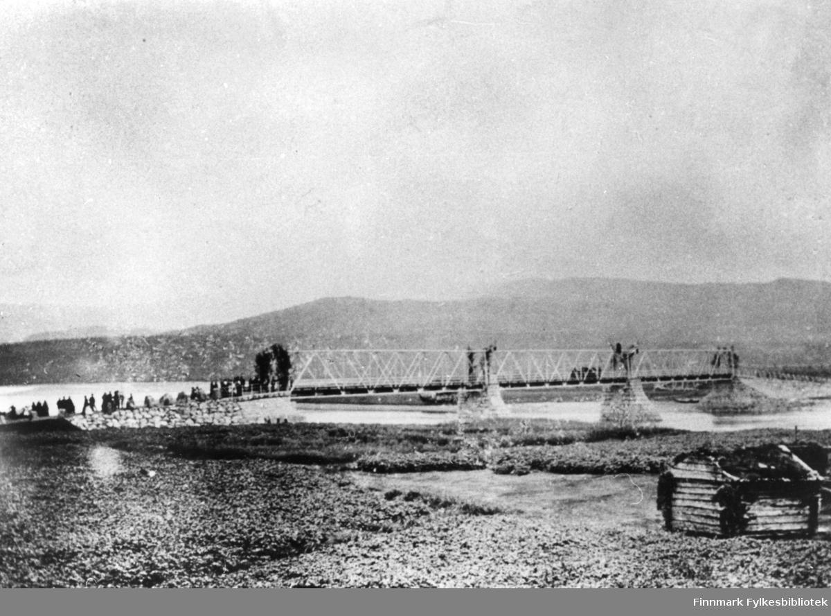 Åpningen av Alta brua 1896.(Alten bru).