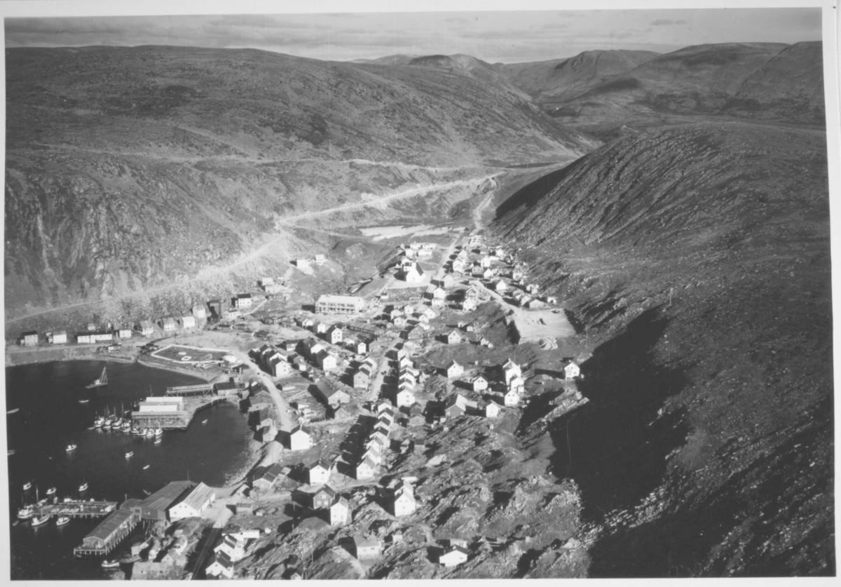 flyfoto av Kjøllefjord