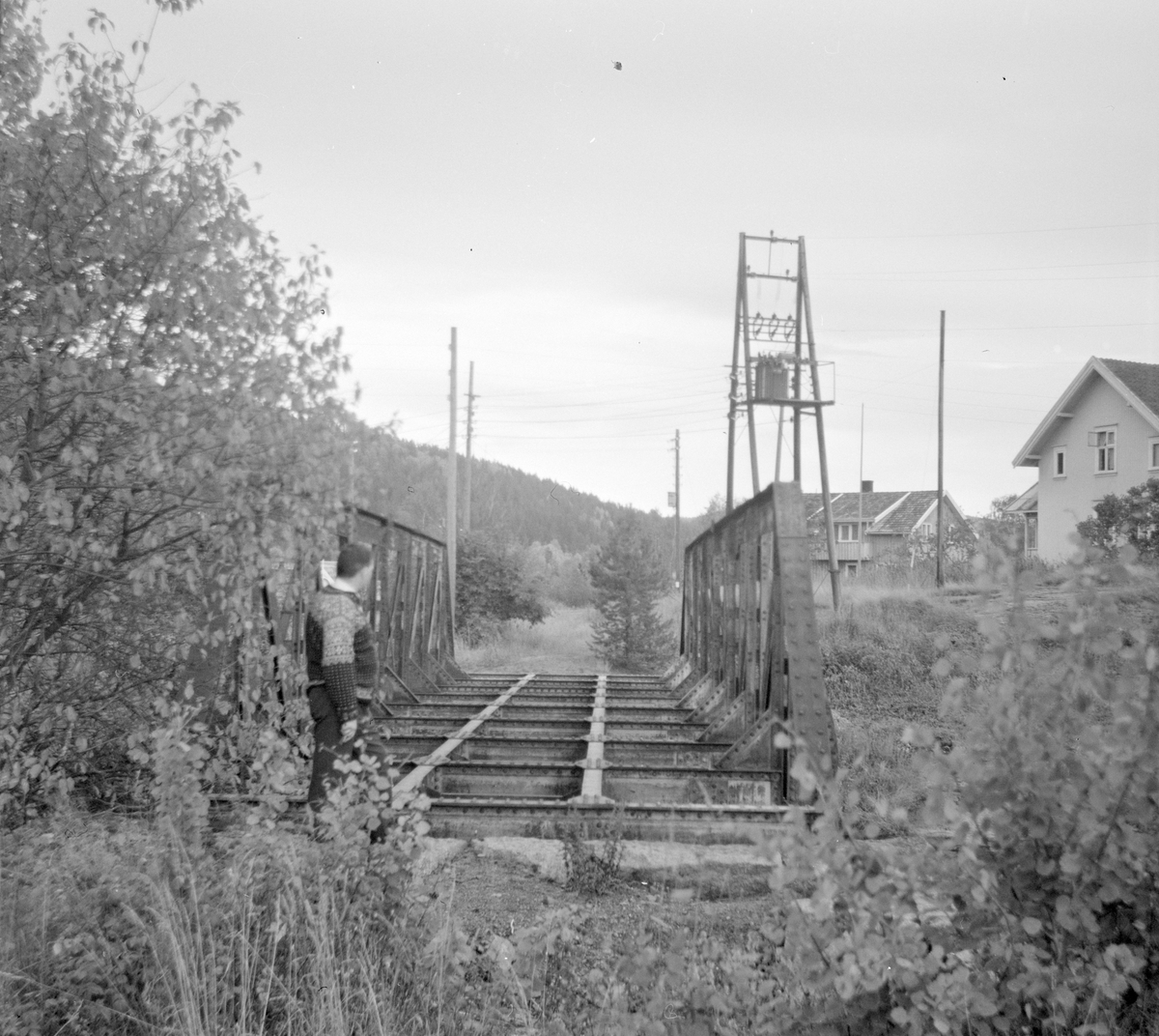 Sundbyfoss bro på nedlagte Tønsberg-Eidsfossbanen.