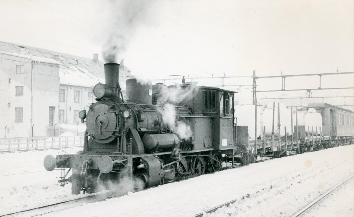 Damplok 25d i skiftetjeneste i Oslo