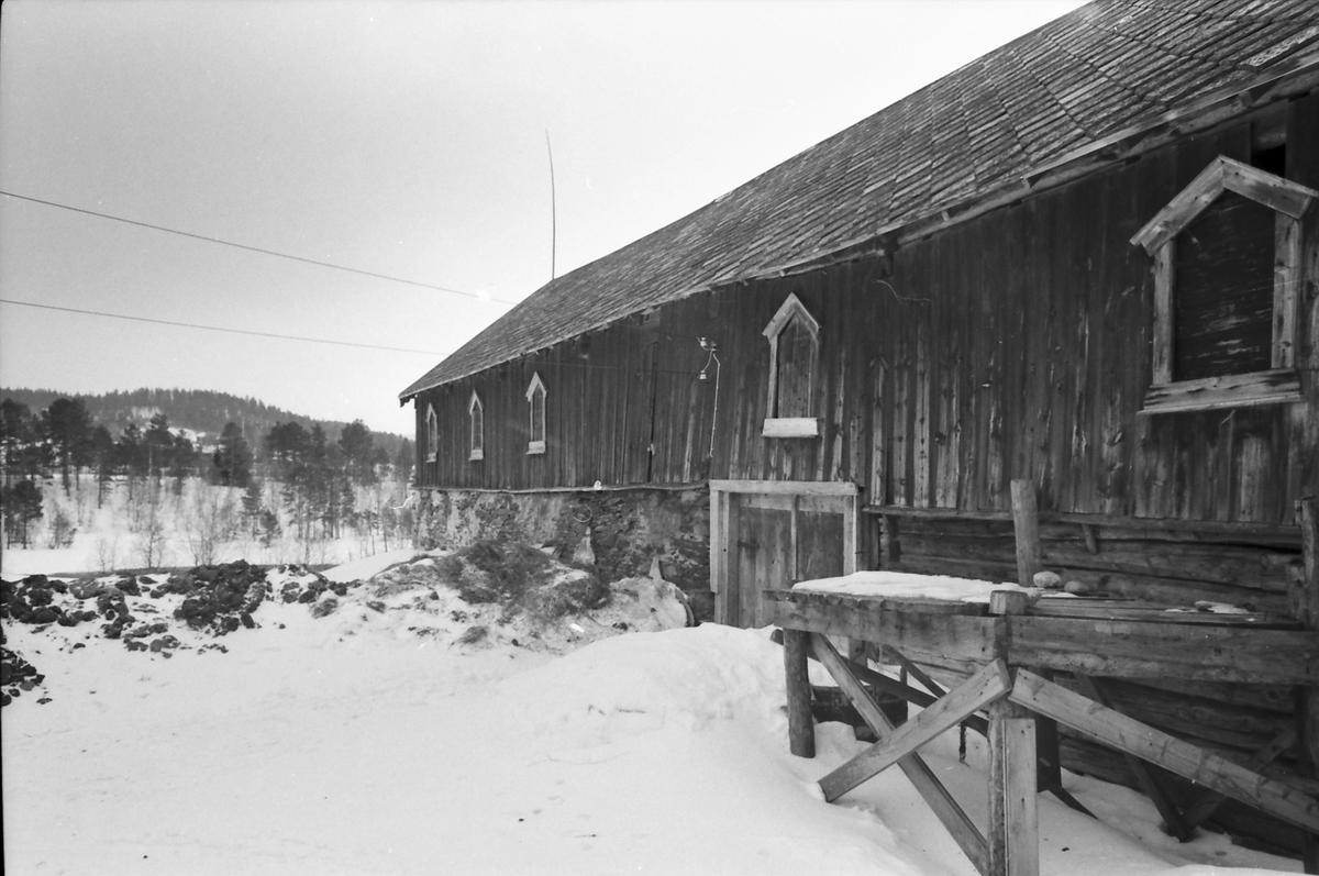 """Røsteidet, """"Egarden"""". Uthus. Os i Østerdalen."""