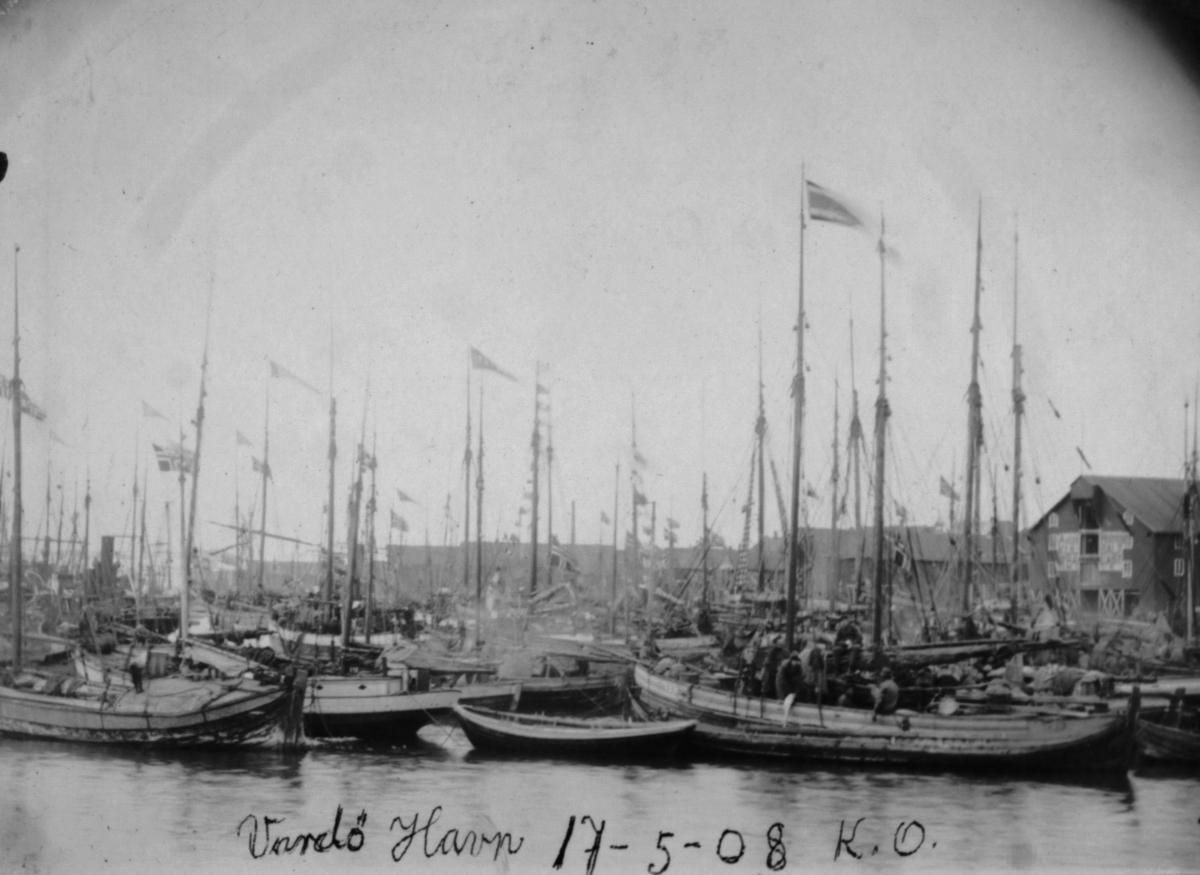 Vardø havn 17.05.08