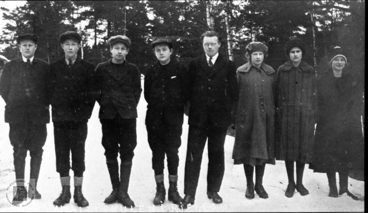 Framhaldskulen på Bjelland 1925