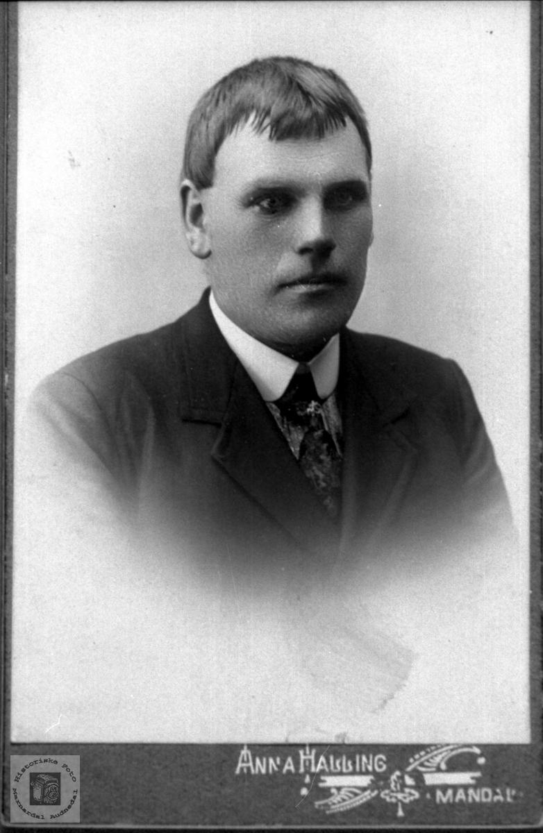 Portrett Ola Trygsland, Bjelland.