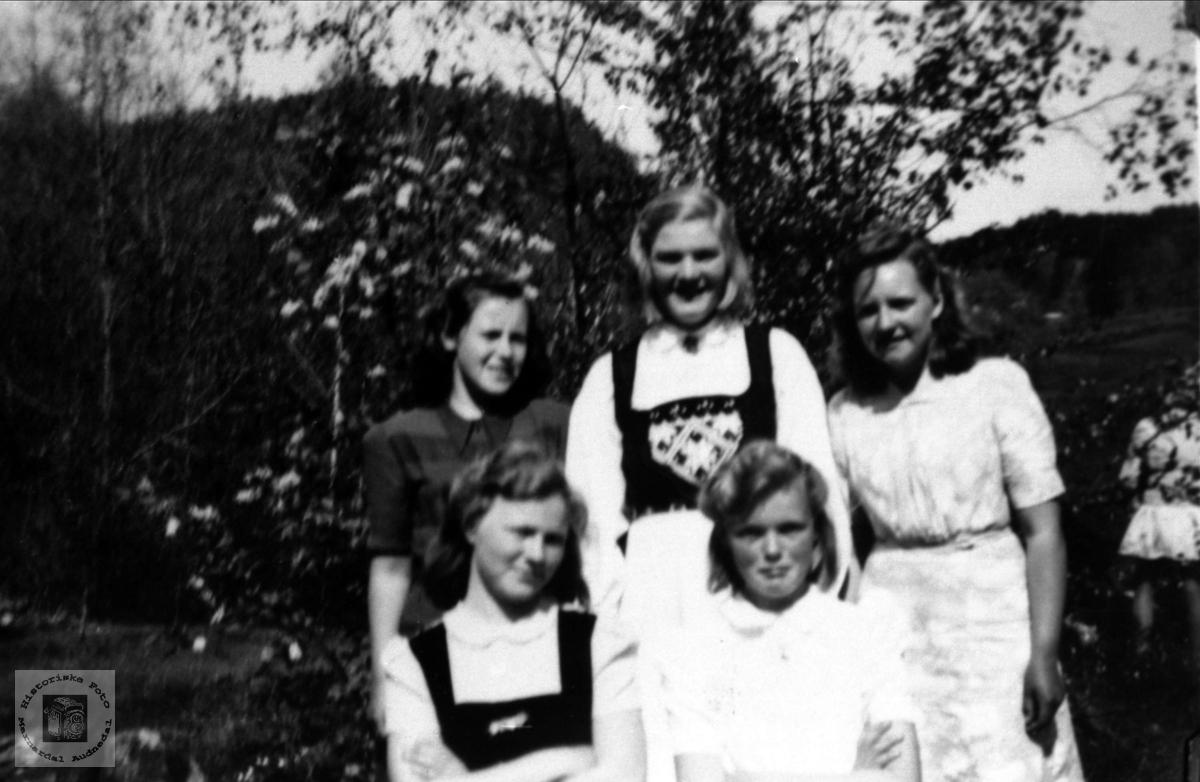 Stemnefolk på Sveinall.