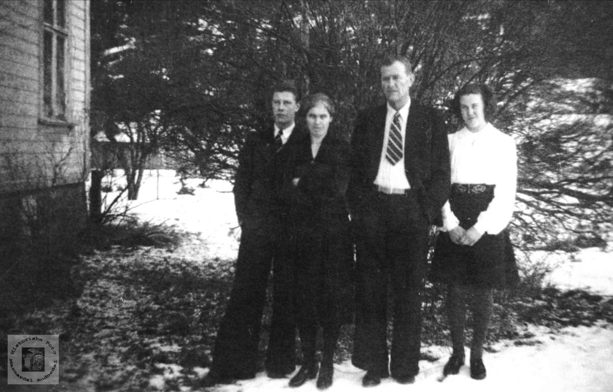 Fam.gruppe. Hans Sandbakken.