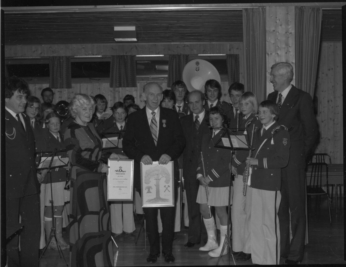 Kongens fortjenestemedalje og kommunens kulturpris 1979, Meldal.