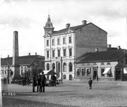 Victor Rydins fd hus vid Stora Torget.