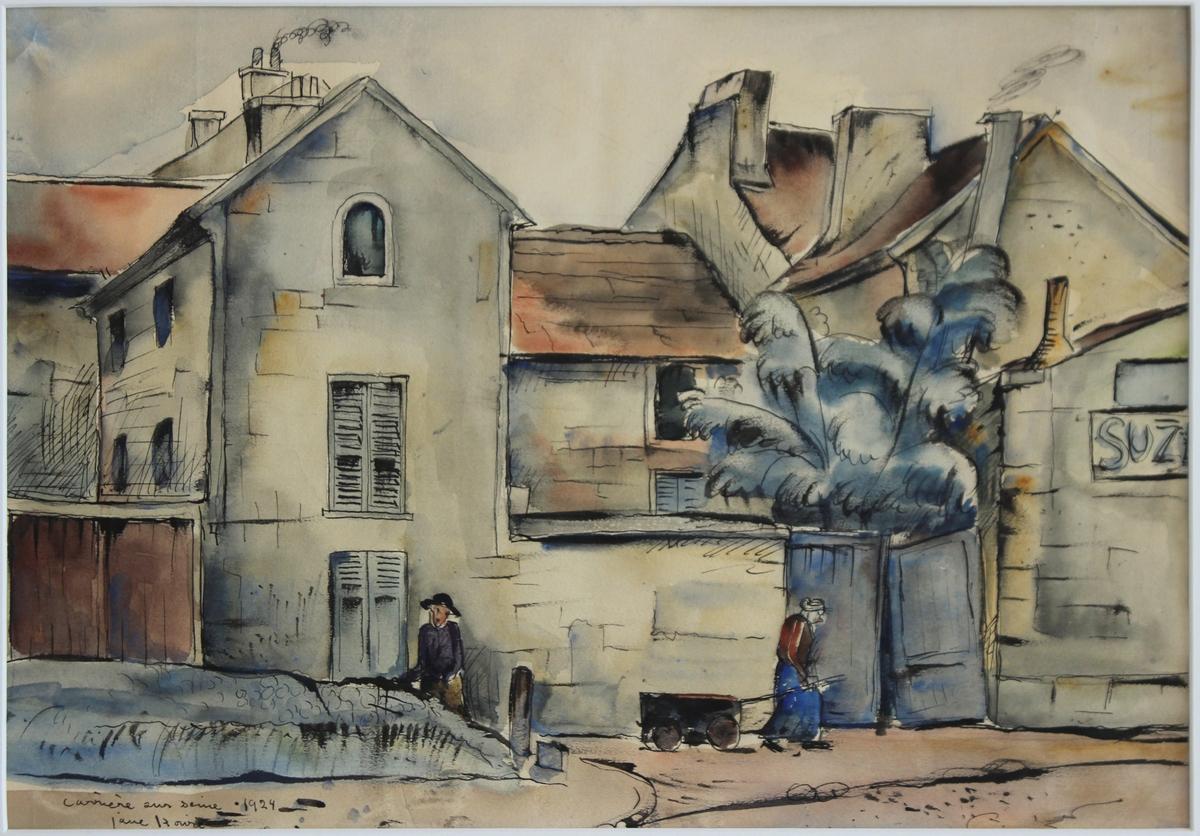 Gammalt hus, Paris