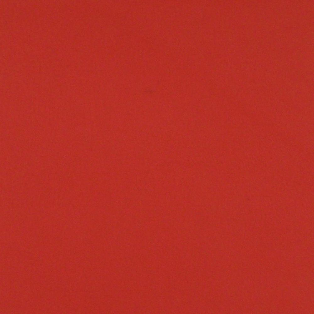 Provbit av rött läder.  Fabrikat: Laphuan Nahka Oy, Lapua, Finland. Kvalité: SF RED LEATHER, år 2002 Design för SJ AB i X2000 Bistro