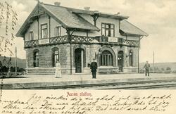Åsen (Aasen) stasjon, trolig kort tid etter åpningen av stre