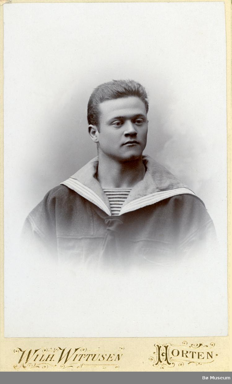 Visittkortfoto av Håkon Rinde