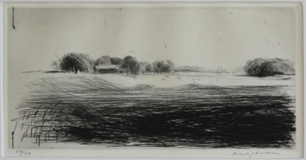 Landskap I [Gravyr]