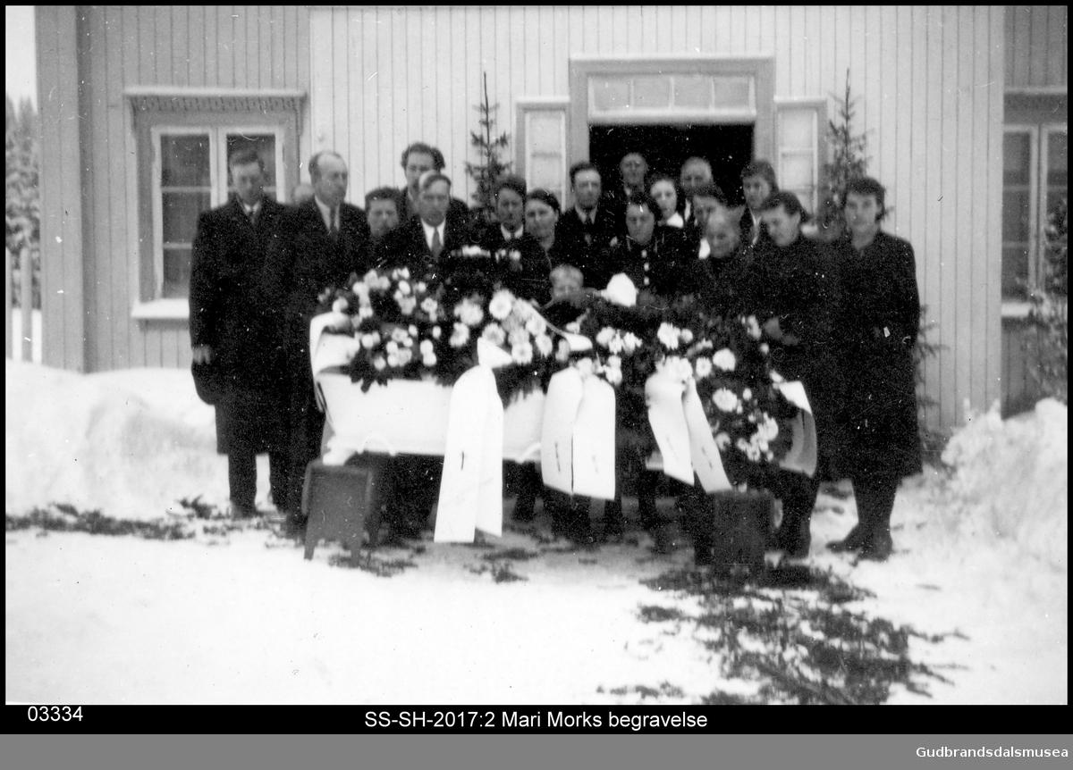 Mari Morks begravelse, Brekkom i Ringebu.