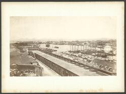 Manila med floden Pasig