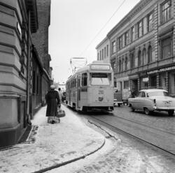Majorstuatrikken, som kjørte ruten Majorstua, Stortorvet, Øs