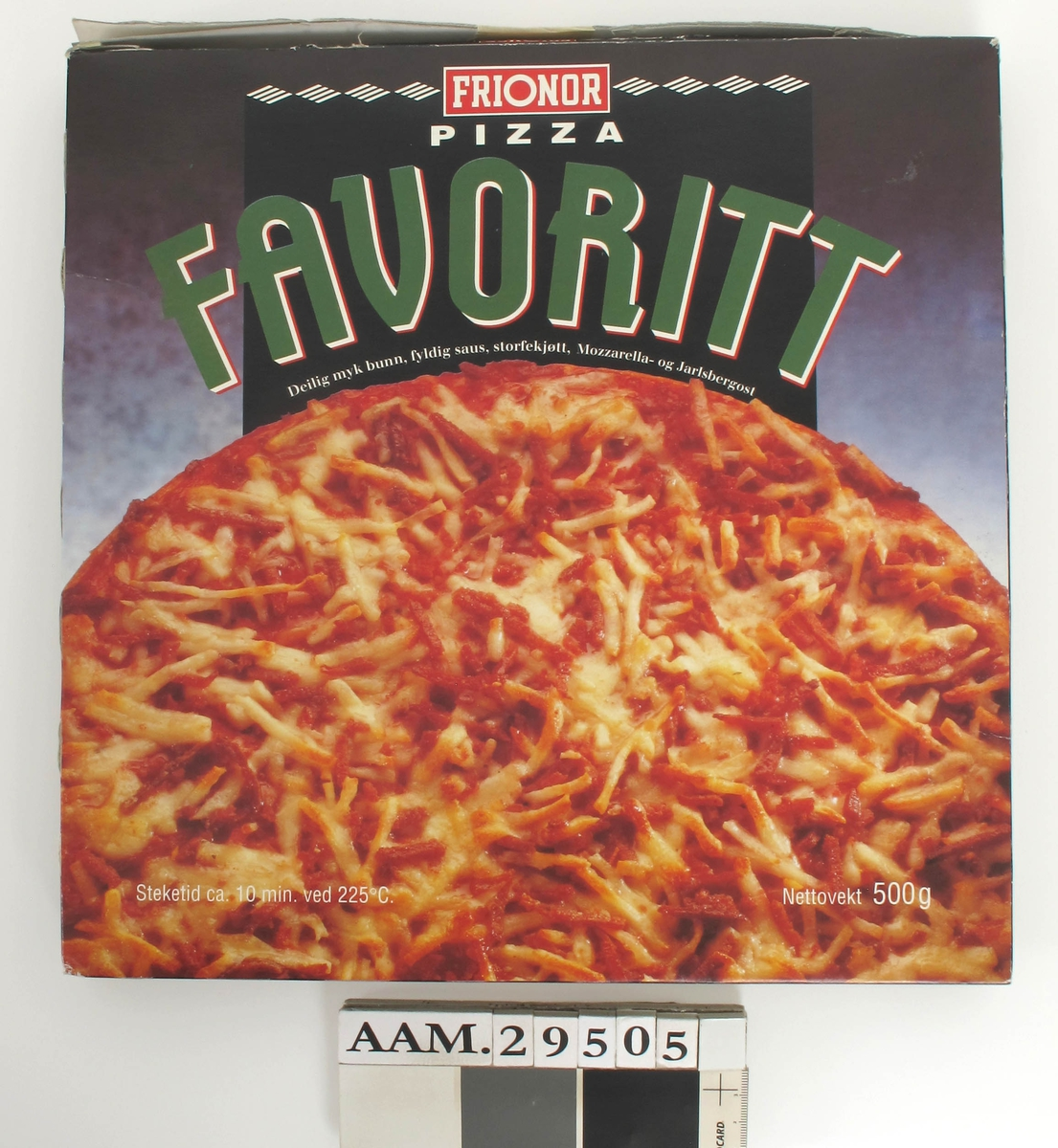 Pizza med ost