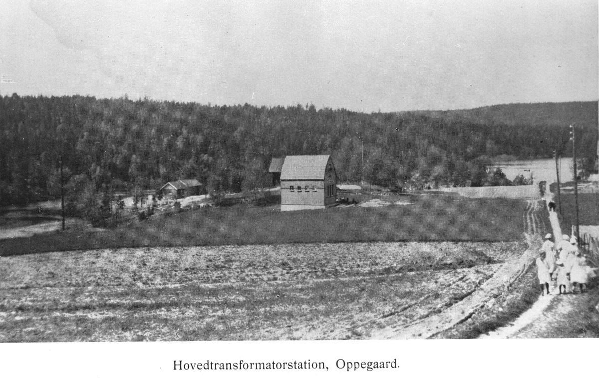 Hovedtransformatorstasjonen i Oppegård
