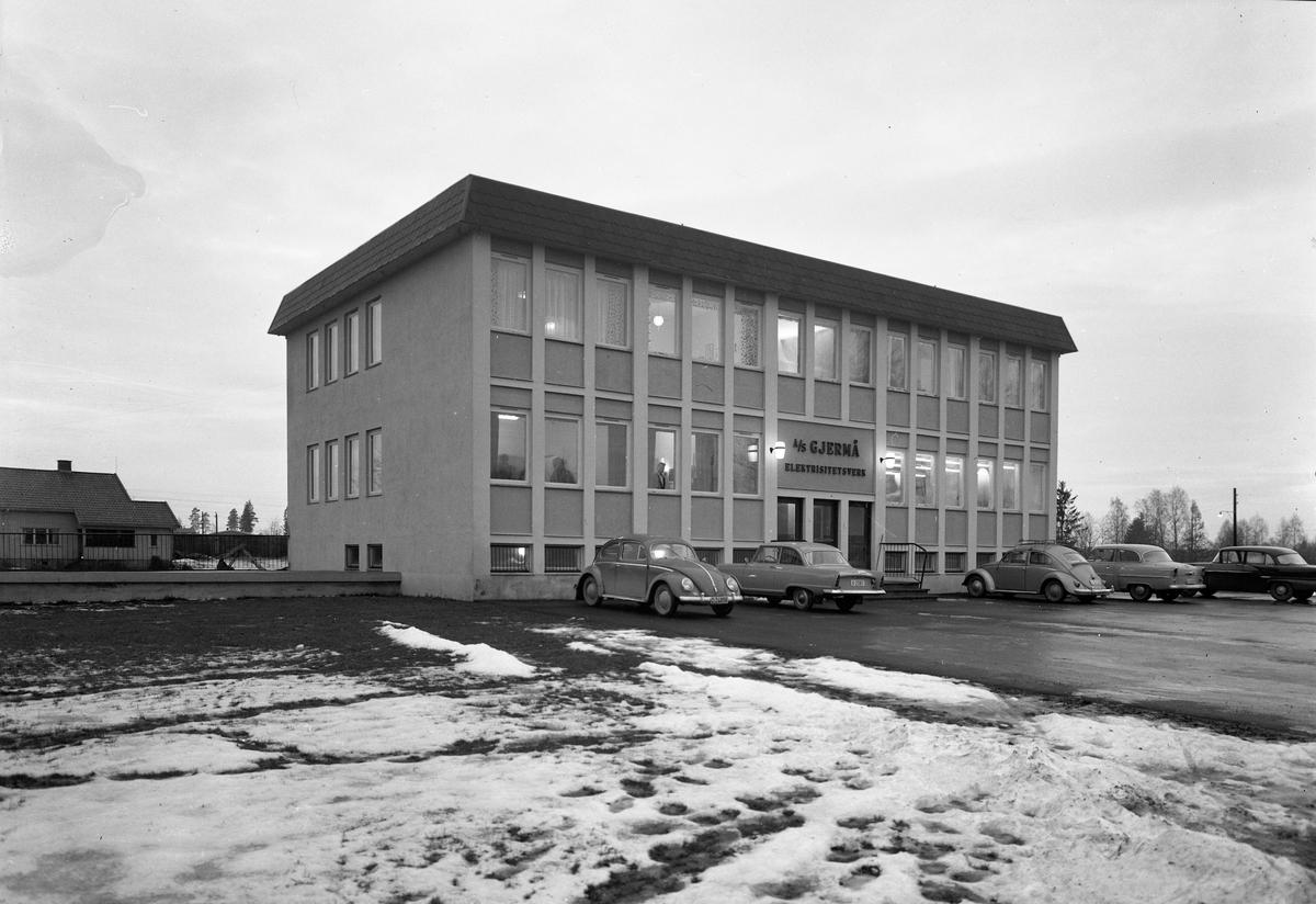 Gjermå Elektrisitetsverk. Trondheimsvn på Jessheim.