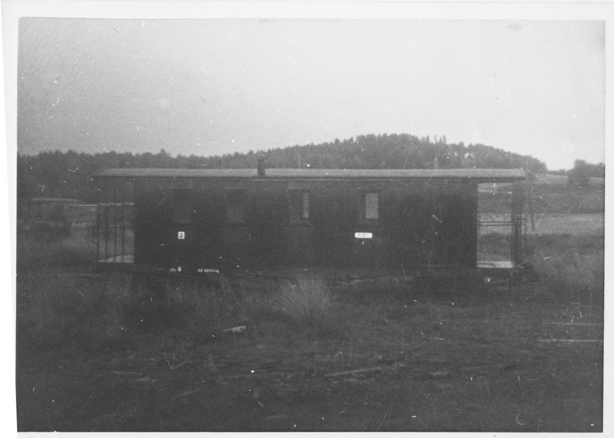 Vogn CFo8 opprinnelig fra Nesttun-Osbanen