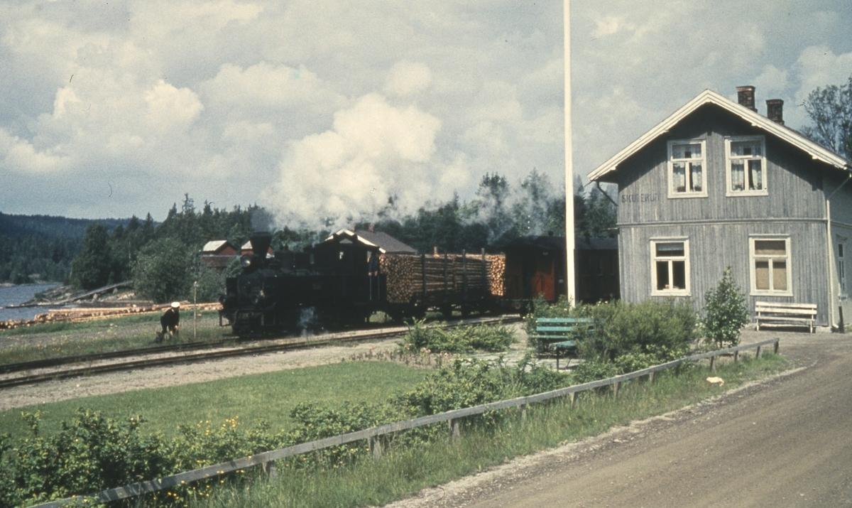 Skifting på Skulerud stasjon