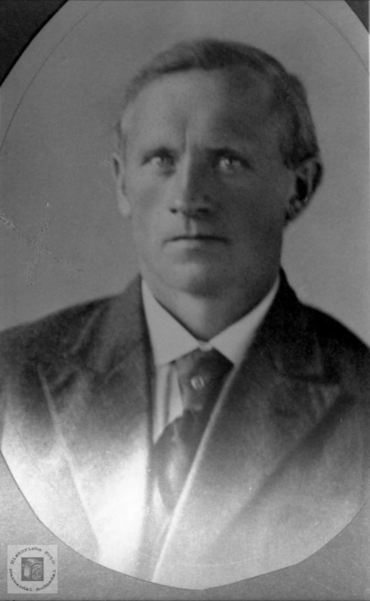 Portrett av Torvald Fossestøl