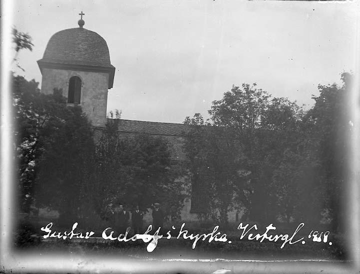 Vassända-Naglums kyrka 1919