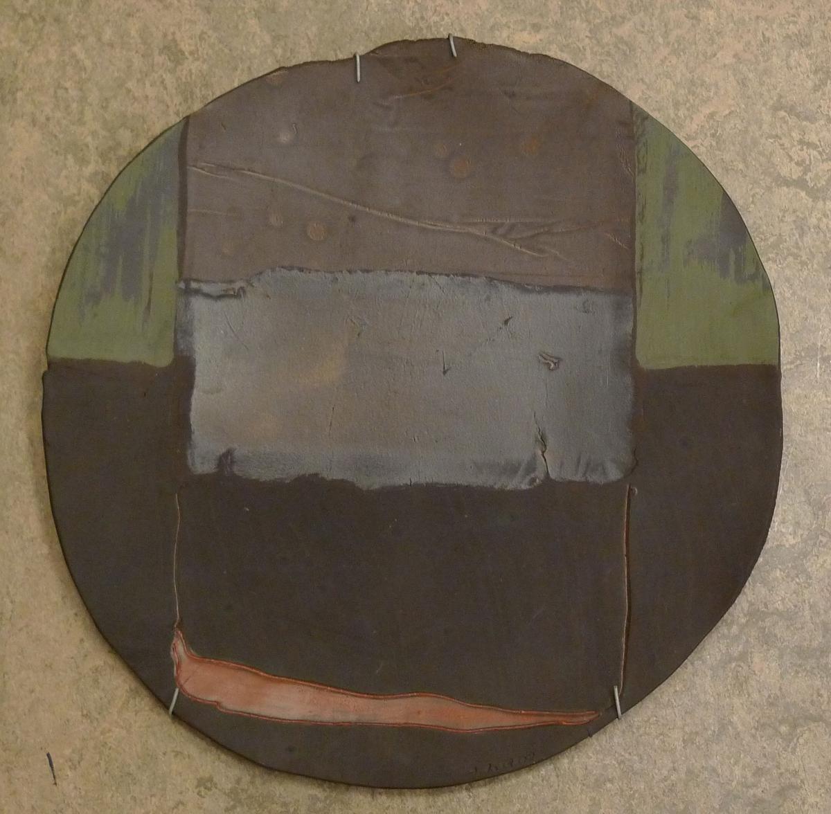 Rundt fat [Keramikk]