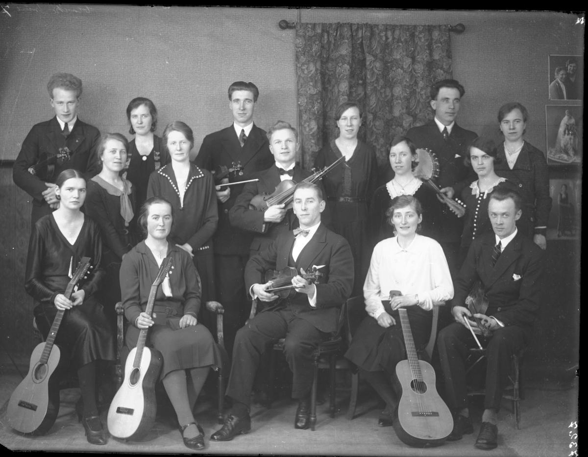 Gruppebilde - Indremisionens musikkforening