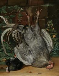 Døde fugler [Maleri]