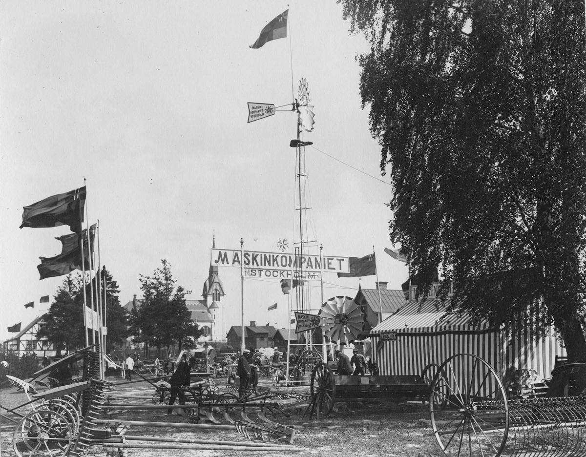 Lantbruksutställningen i Katrineholm 1904.