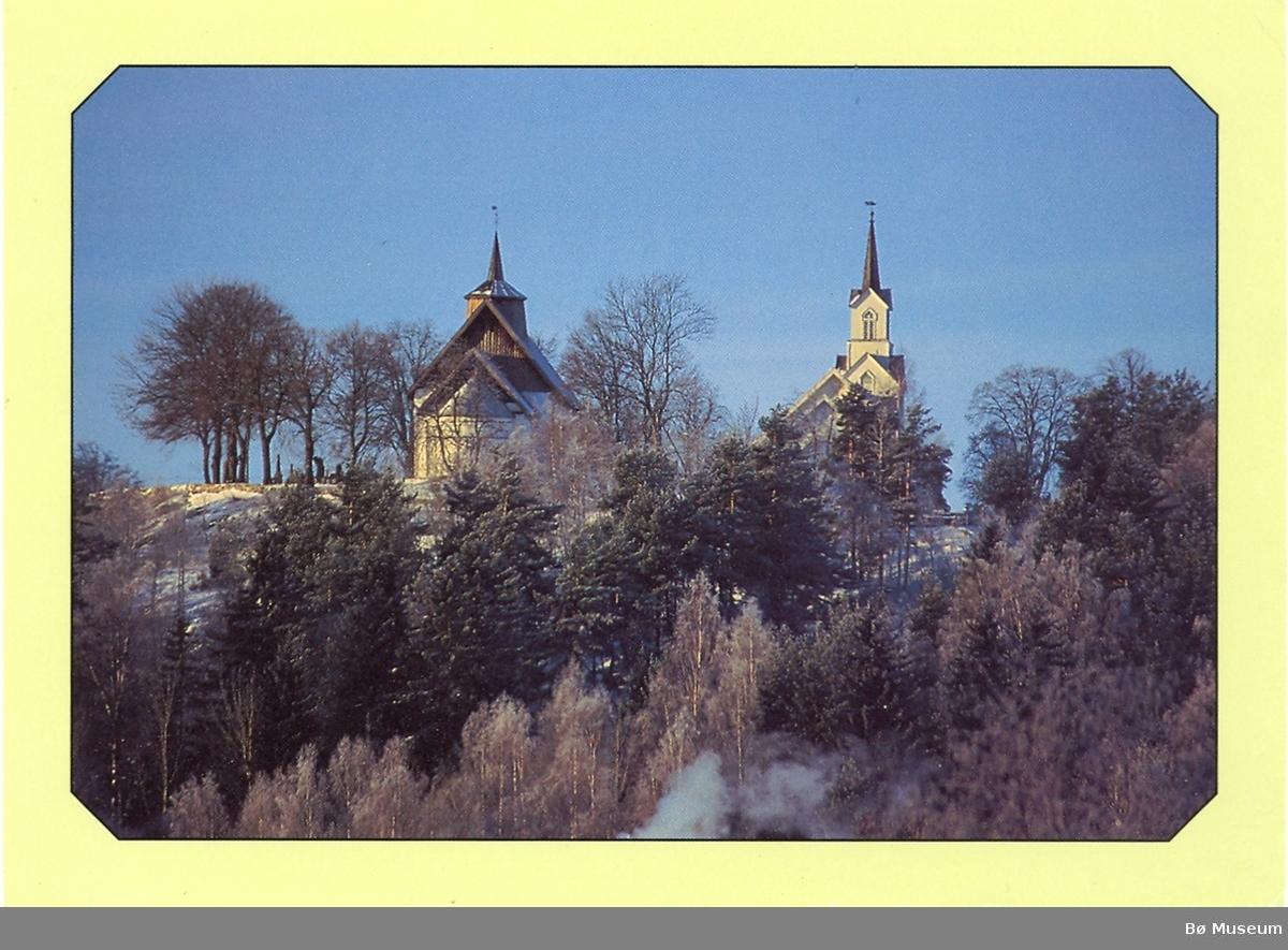 Kyrkjene på Bøhaugen, Bø i Telemark