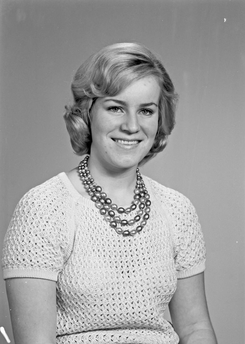 Portrett av en ung kvinne - bestiller Astrid Syvertsen
