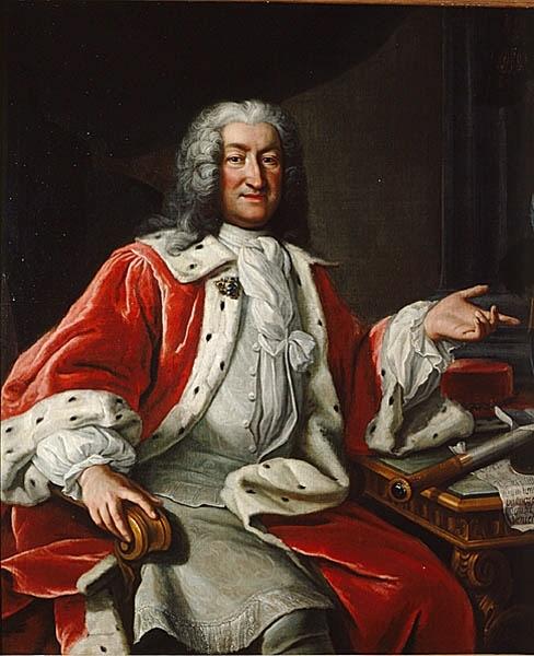 Arvid Bernard Horn af Ekebyholm, 1664-1742