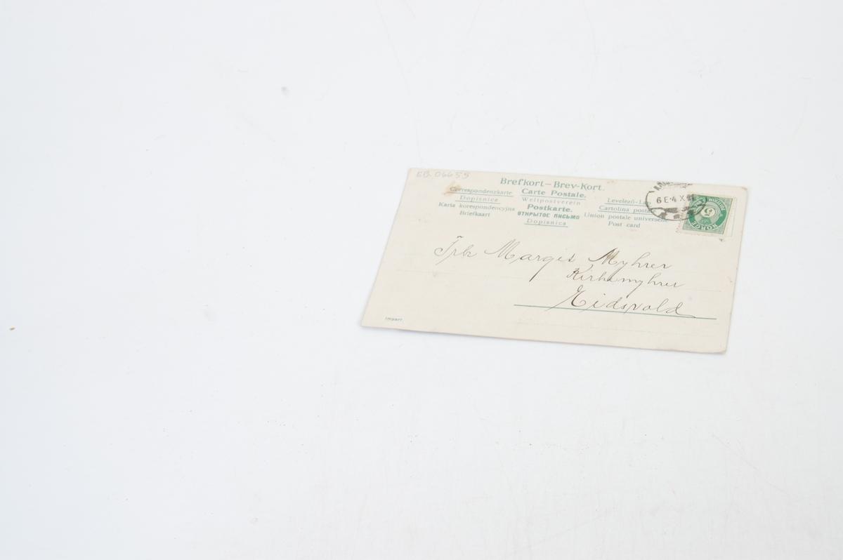 skrift, bilde av kong Oscar