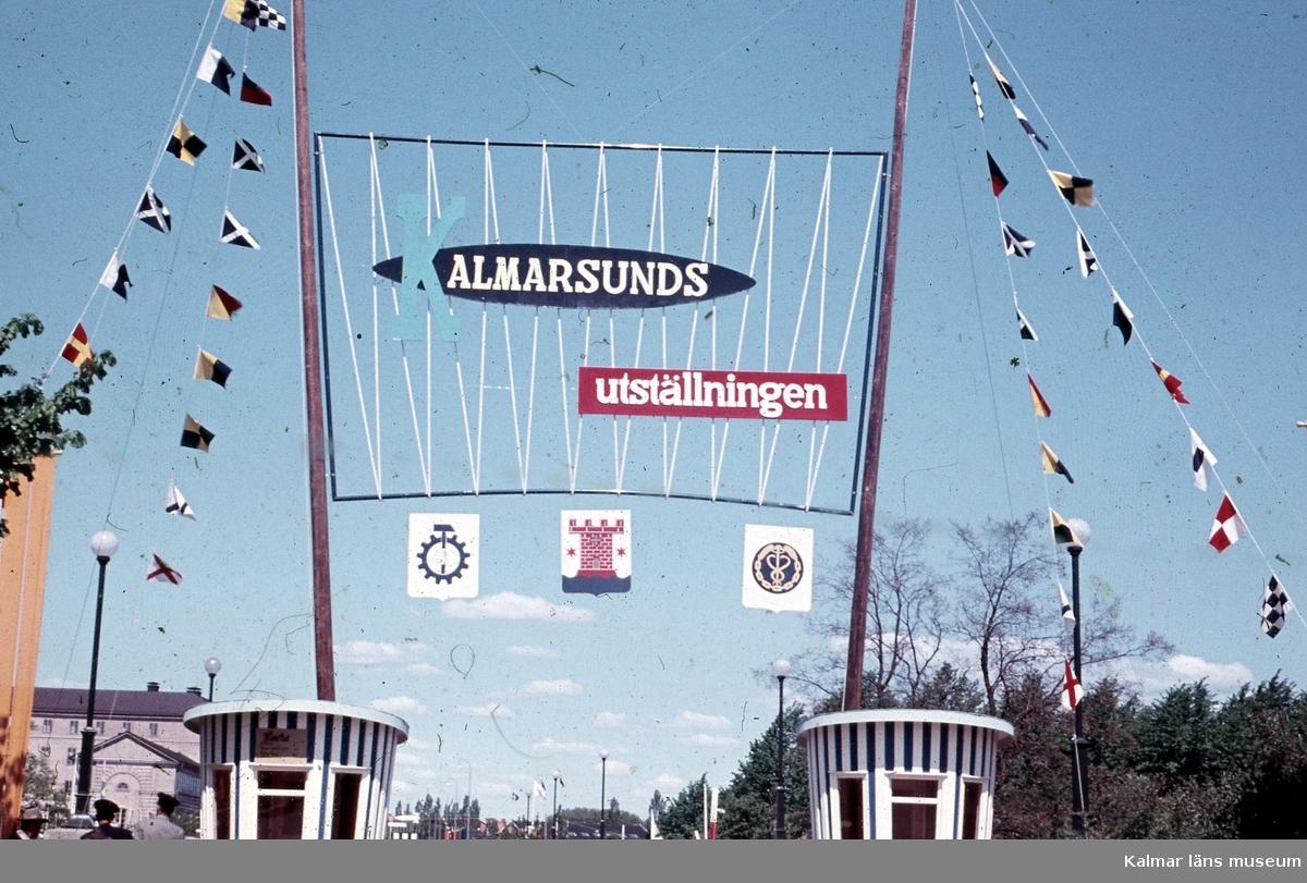 Från Kalmarsundsutställningen i Kalmar 1955.