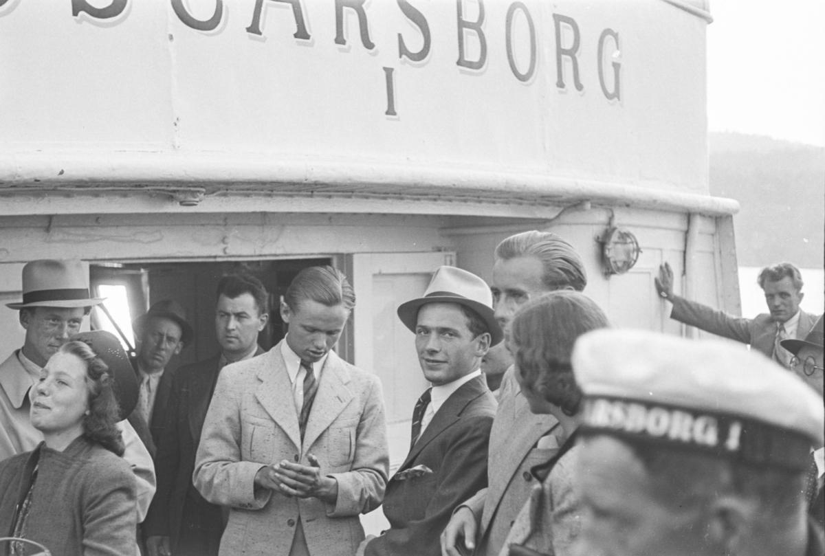 Ombord i DS Oscarsborg I.
